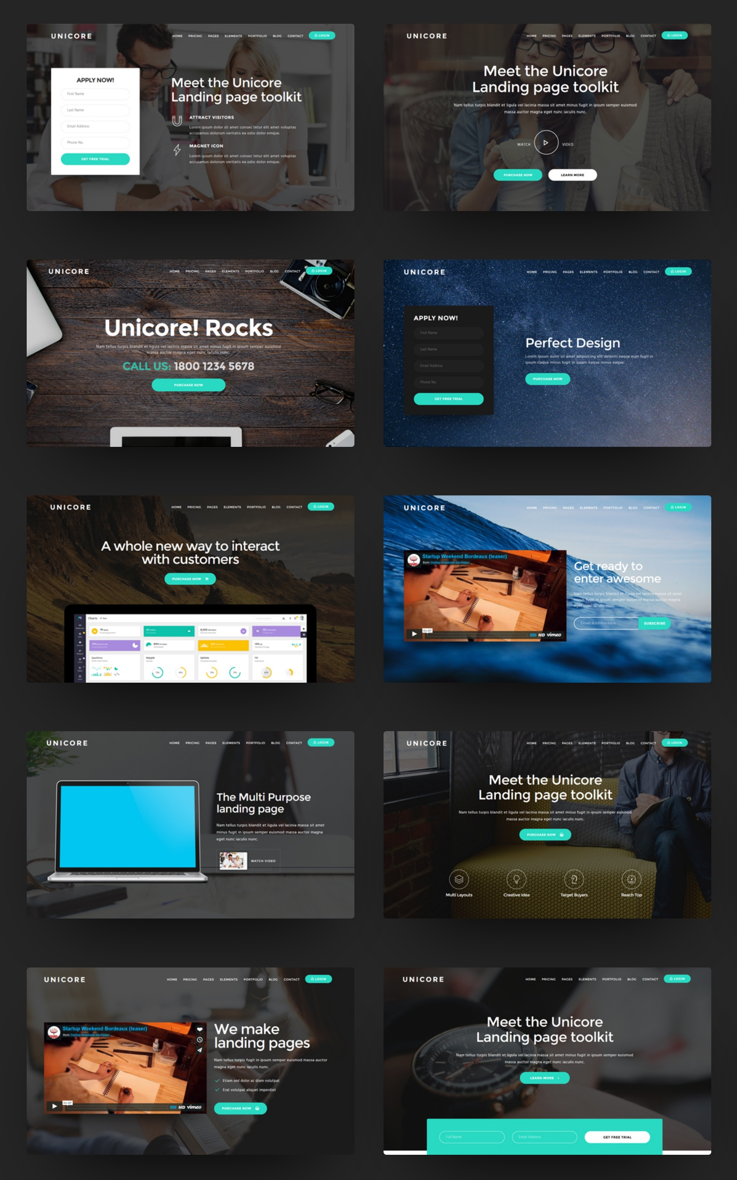 Custom Bootstrap Color Theme Template