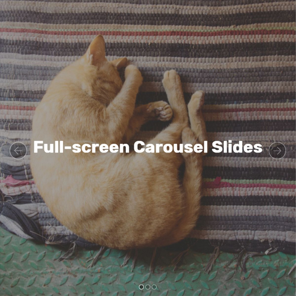HTML5 Bootstrap Photo Carousel