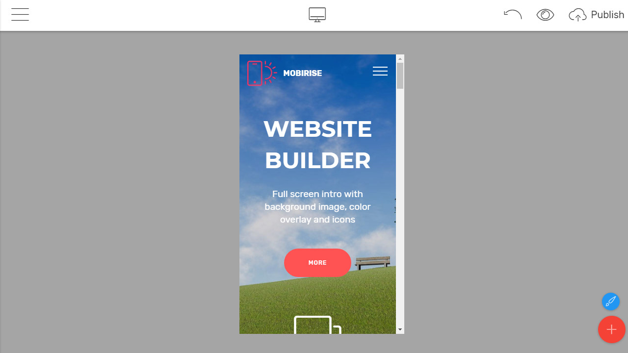 Mobile-Friendly Bootstrap Builder