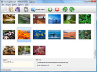 html page popup dialog Ajax Photo Albums