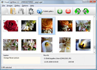 attractive pop up windows in flash Photo Album Viewer Ajax